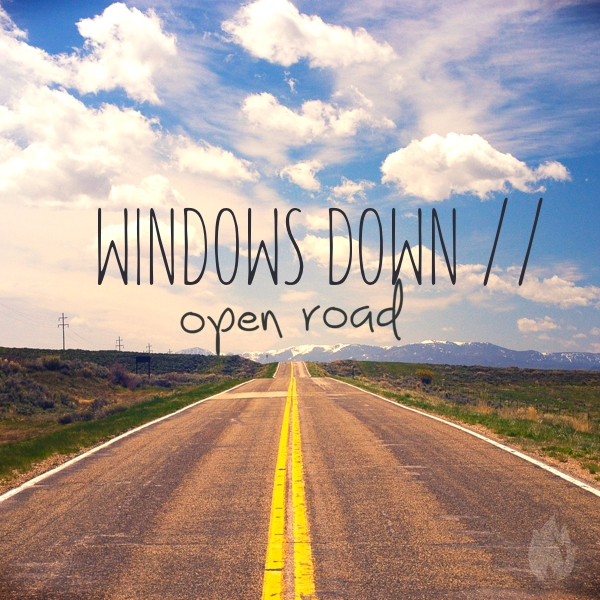 WindowsDownOpenRoad