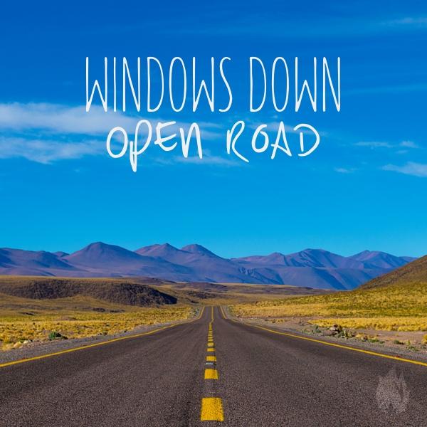WindowsDownOpenRoad